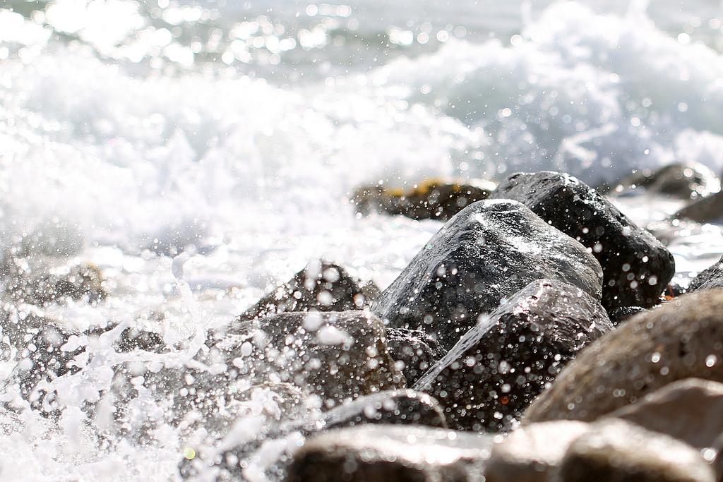 change management course scotland rocks sea.