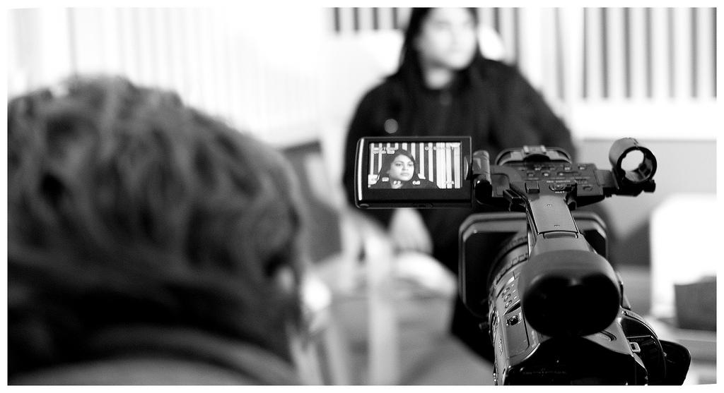 media interview training glasgow camera.
