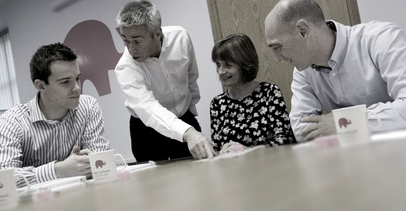 pitching for business, glasgow, pink elephant communications