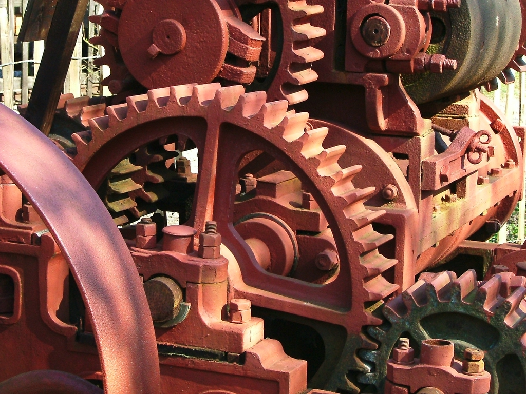 media course scotland cogs machinery.