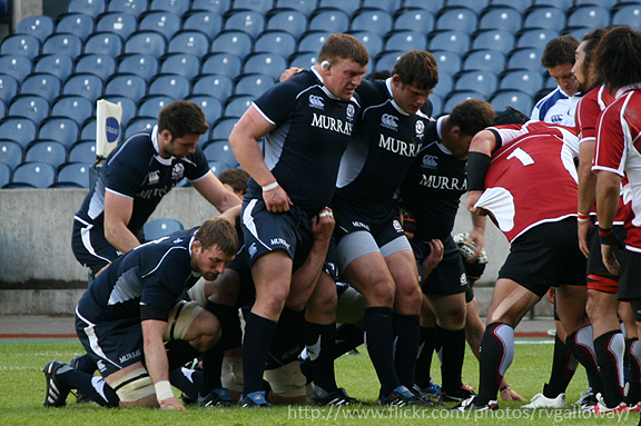 media training facts and opinions scotland rugby match scrum.