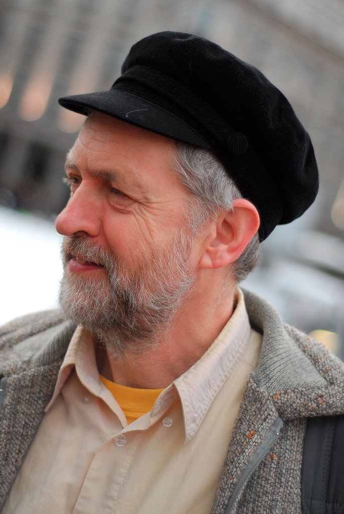Labour leadership front-runner Jeremy Corbyn