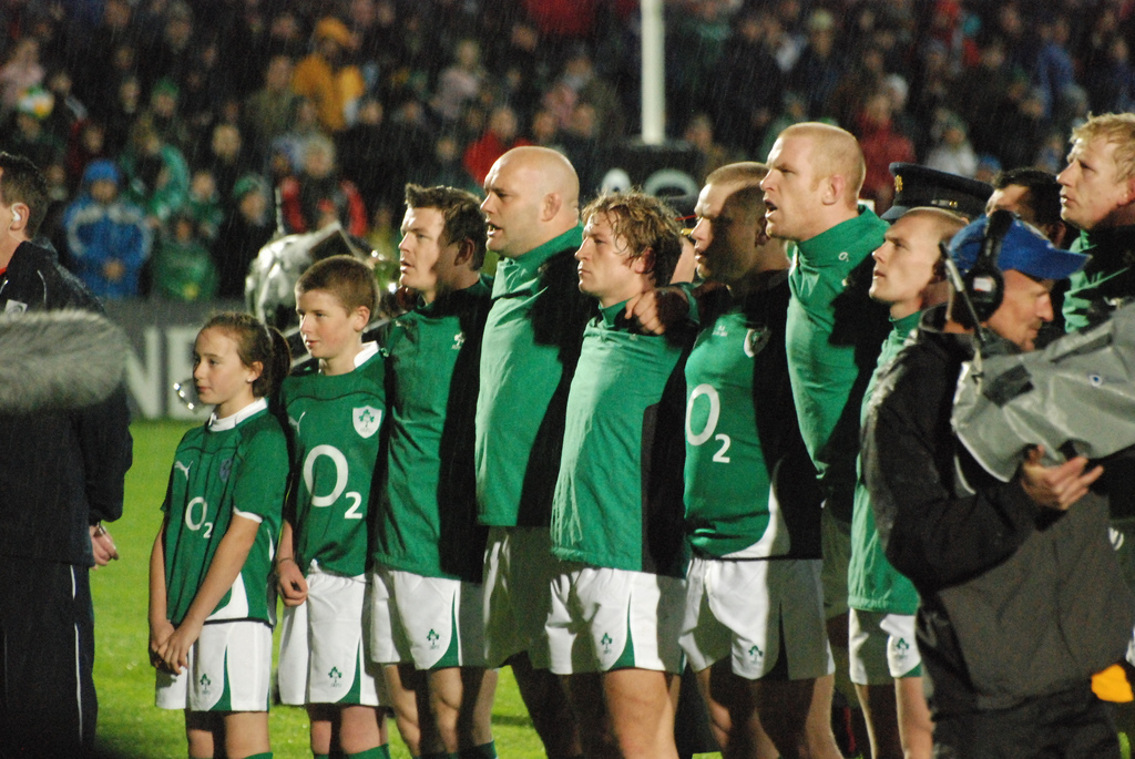 Rugby World Cup - Pink Elephant Communications - Ireland rugby