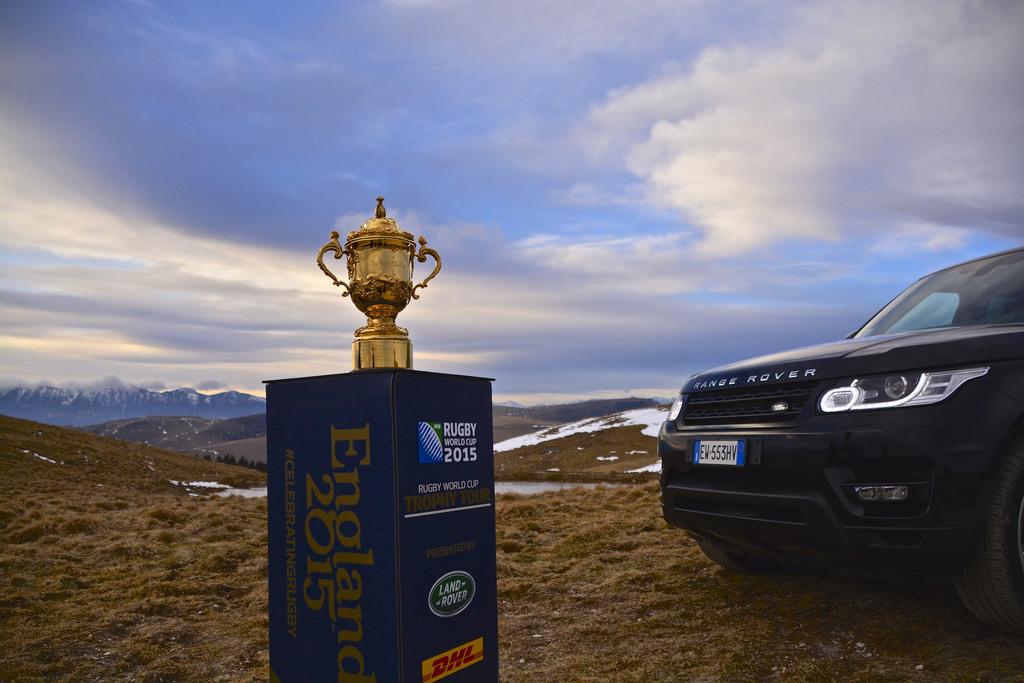 Rugby World Cup - Pink Elephant Communications - Webb Ellis trophy