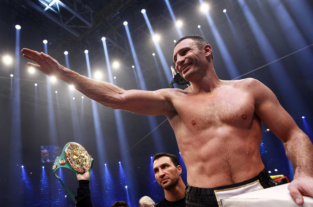 media training courses glasgow Wladimir Klitschko.