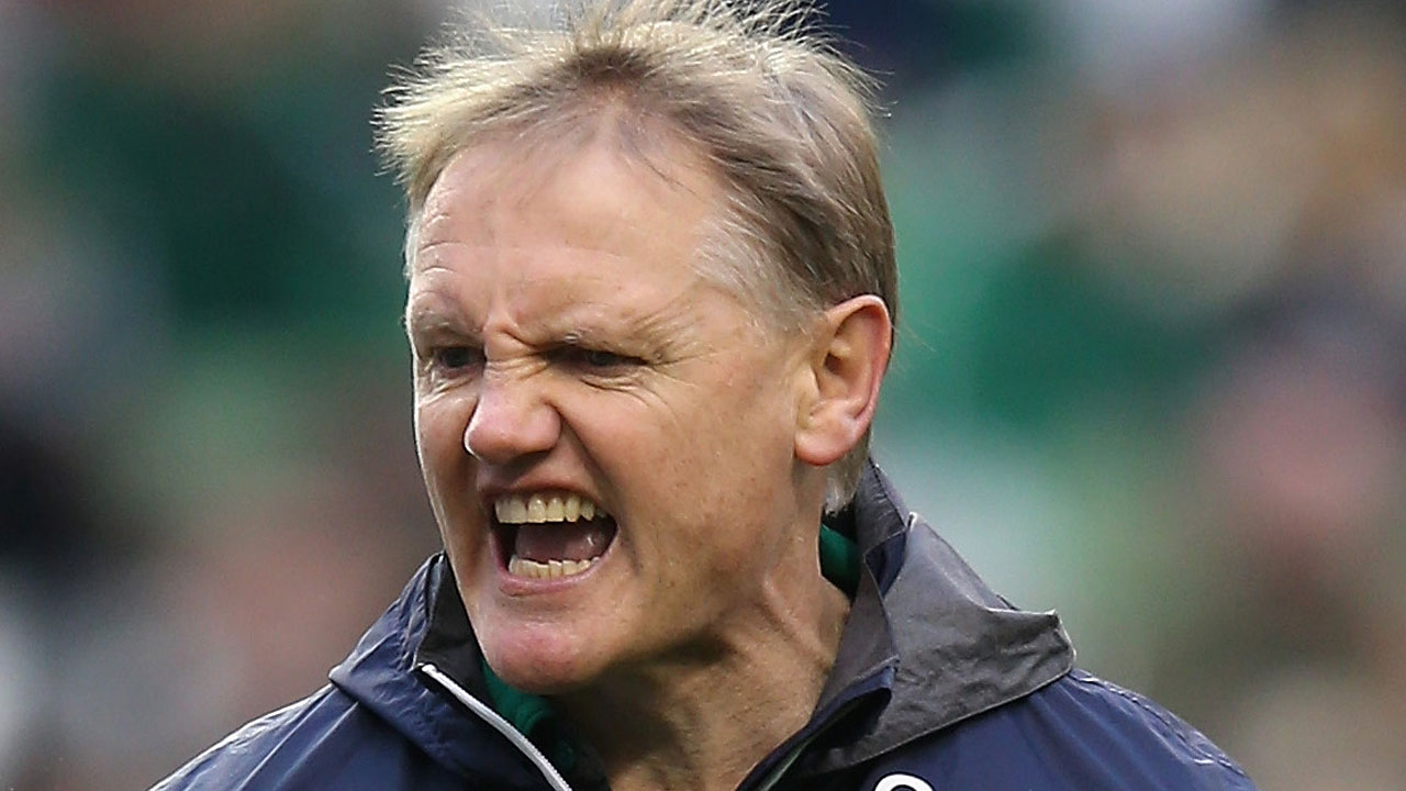 six nations media interview training scotland ireland's Joe Schmidt rugby.