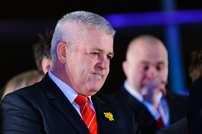 six nations media interview training scotland wales coach warren gatland.