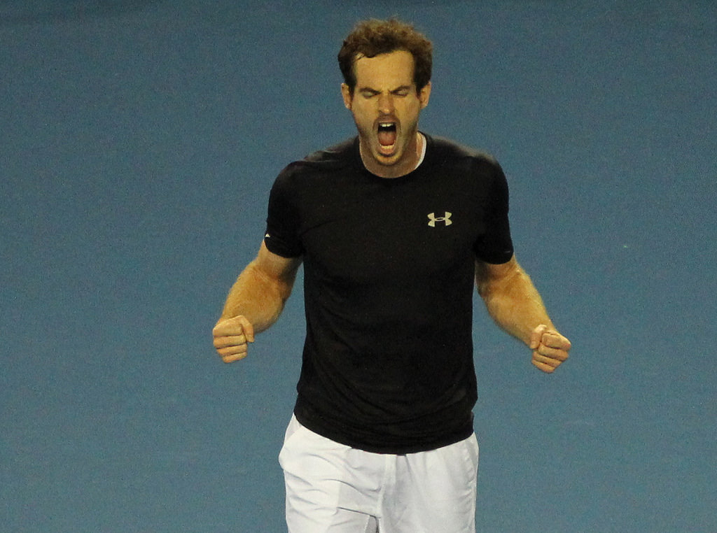 negative self-talk andy murray australian open presentation training scotland.