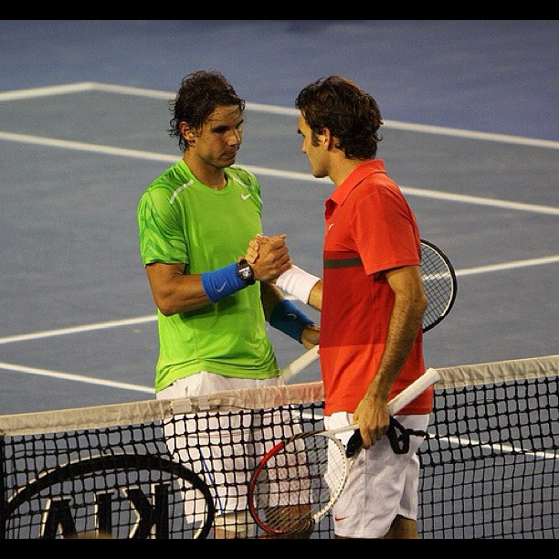 communication skills training scotland Rafael Nadal Roger Federer character.
