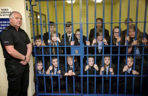 media training scotland kids behind bars.