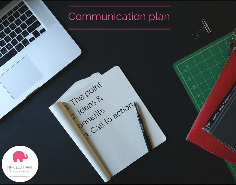 rules-to-communicate-clearly-communication-plan-pink-elephant-comms