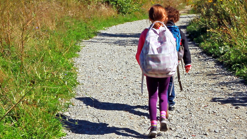 parent communication skills kids hiking commitment.