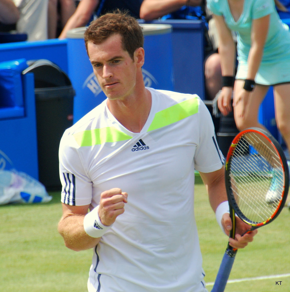 communications skills training course positivity Andy Murray.