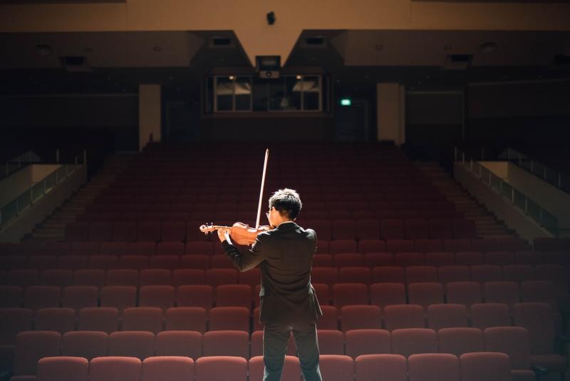 impromptu speech presentation training structure solo violinist.