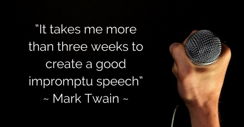 presentation-training-impromptu-speech-mark twain