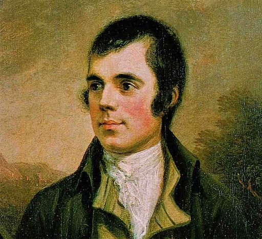 Wedding public speaking tips Robert Burns.