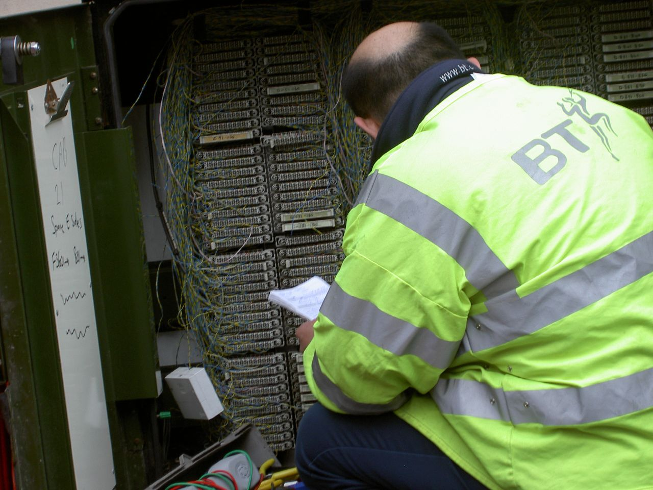 BT engineer communication guide training firm Glasgow.