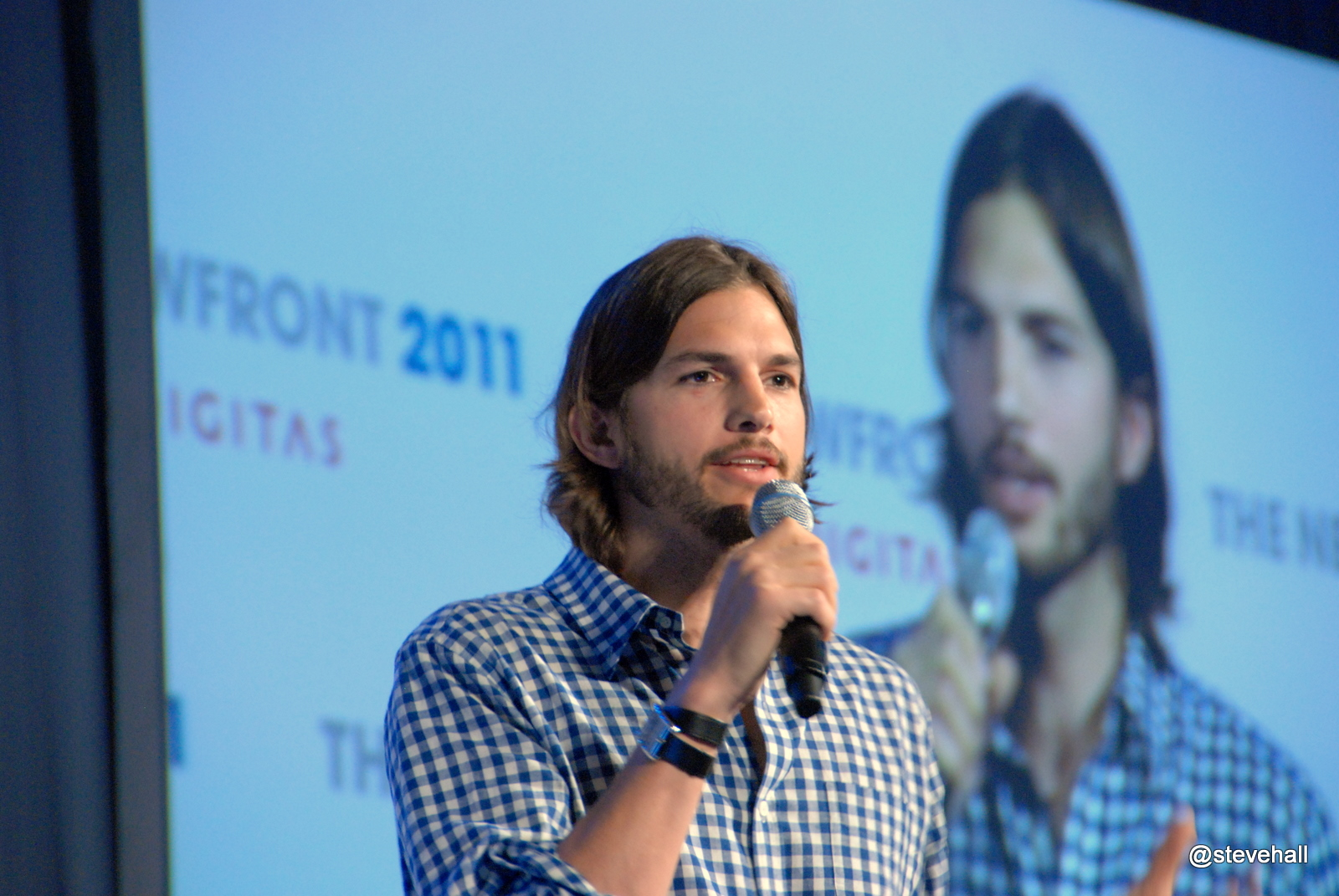 making your audience uncomfortable-presentations-pink-elephant-comms-Ashton Kutcher