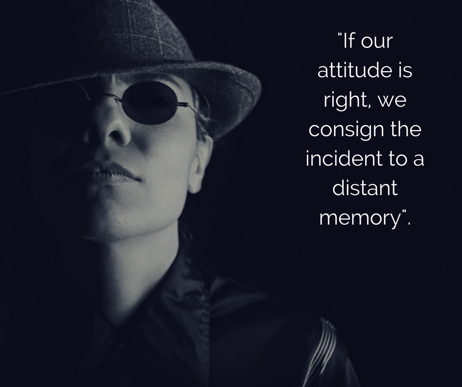 presentation skills- incidents vs attitude