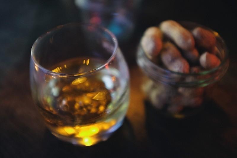 whisky in glass media training glasgow.