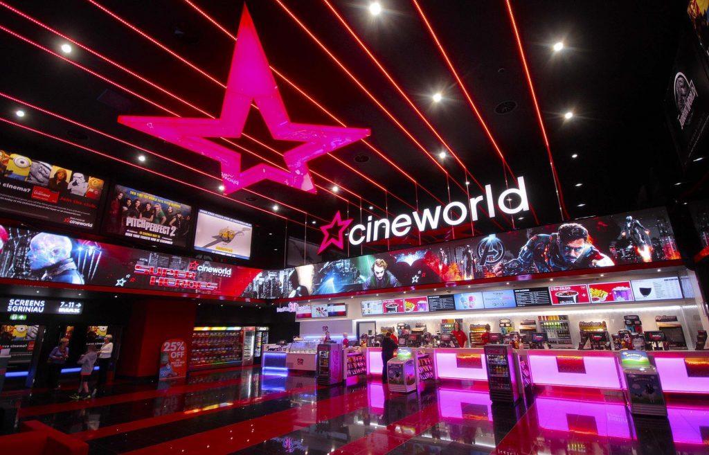 stinking thinking at Cineworld Glasgow