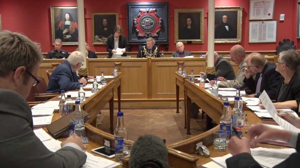 council meeting communication Scotland.