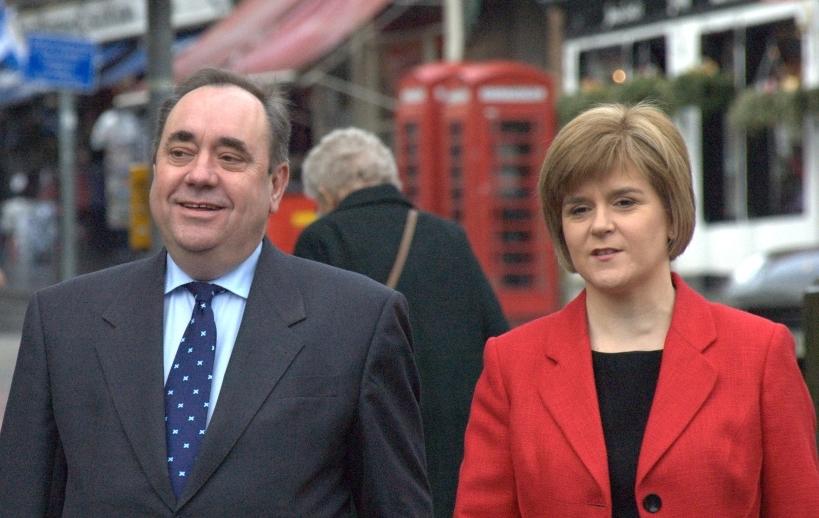 Salmond Sturgeon media training Glasgow Edinburgh