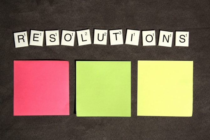 New Year Resolutions Pink Elephant Blog