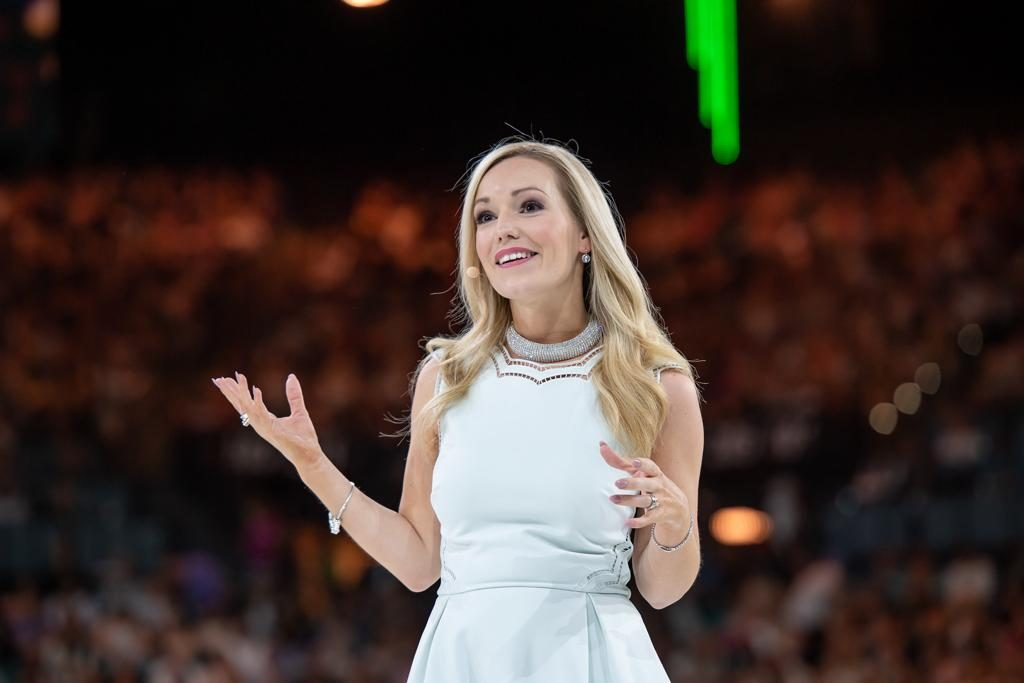 Emma Sangster, Arbonne Conference, Fear of Public Speaking