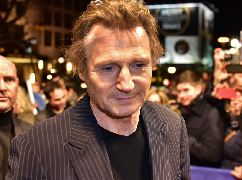 Liam Neeson, Cold Pursuit, Pink Elephants, media training glasgow