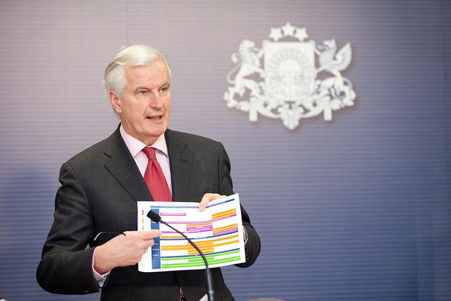 EU Michel Barnier, media training in glasgow, Stealing brexit