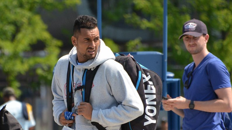 staying relentlessly positive Positivity Game Set Match Nick Kyrgios