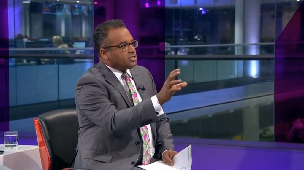 media training, criticising questions, krishnan guru murthy, channel 4 news