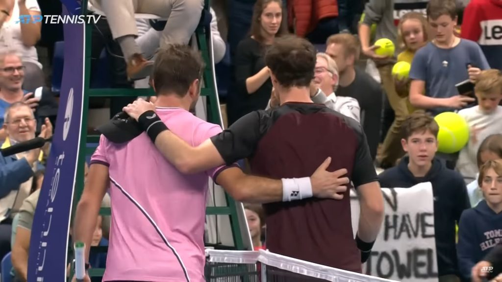 grace in defeat, communication skills, amazing grace, stan wawrinka, andy murray