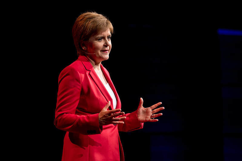 Nicola sturgeon, the cost to scotland, business presentations