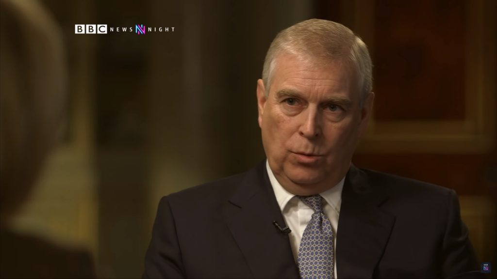crisis communication, prince andrew, were his answers credible