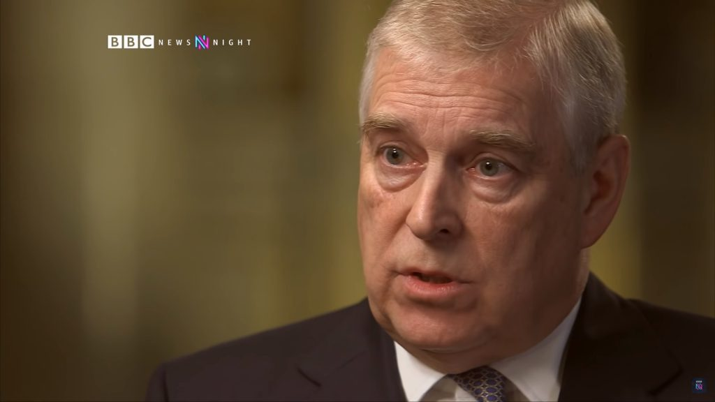 crisis communication, prince andrew, a prince beyond, did he say sorry