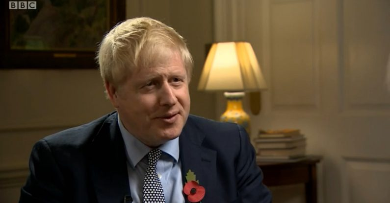 media training, interview style, boris johnson