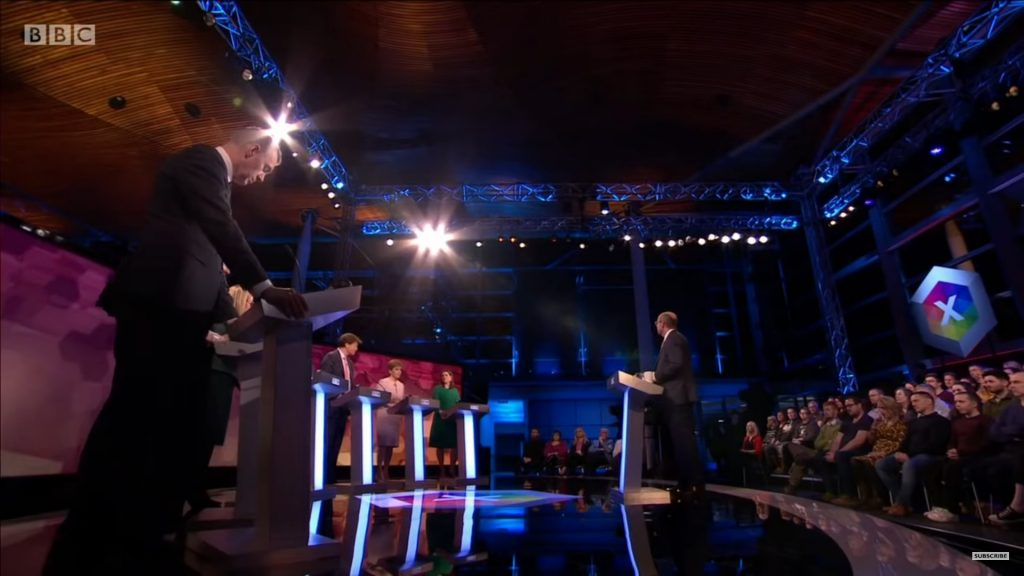 pitching for business, bbc debate, politicians