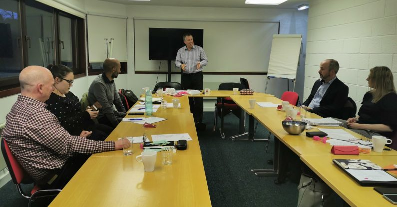 presentation training in scotland, bill mcfarlan, pink elephant
