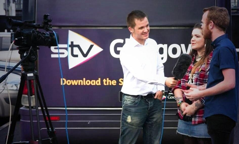 tv interview training, remember the audience, stv glasgow