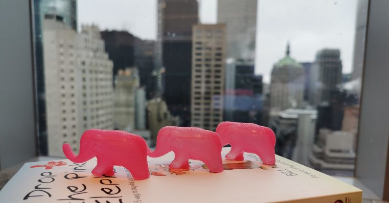 Pink Elephant training courses, pitching for business, clear communication