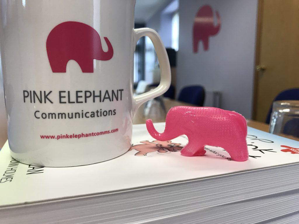 presentation skills course edinburgh, so what now, pink elephant