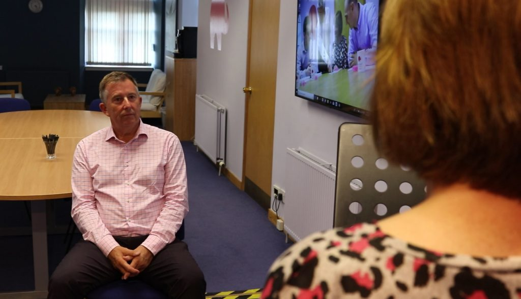 Presentation skills training in Scotland, bill mcfarlan, watering down words