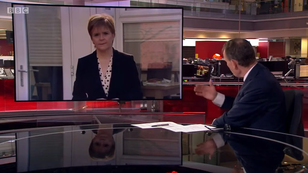 First Minister Nicola Sturgeon, Pink Elephant
