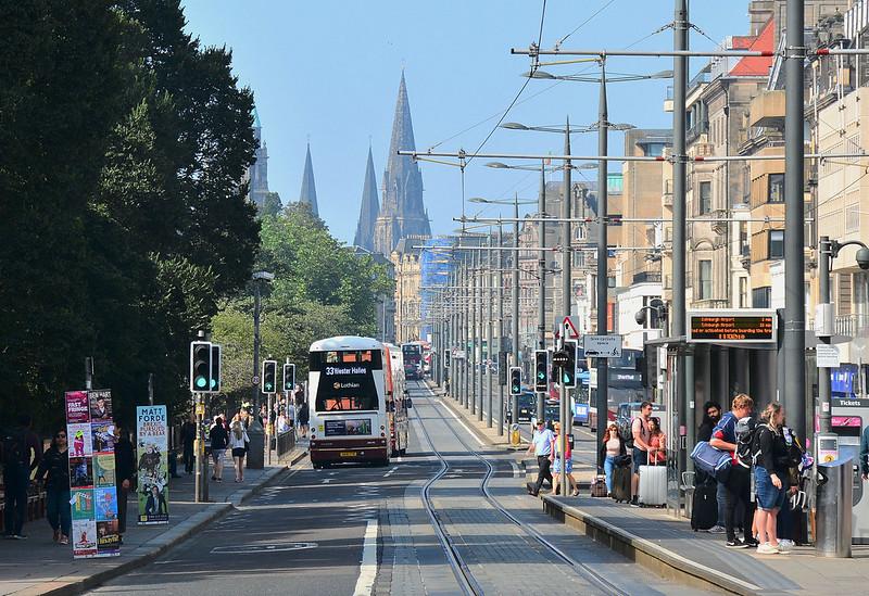 crisis management edinburgh, princes street, jason leitch