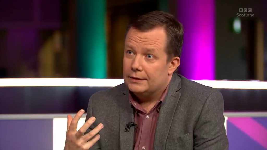 crisis management edinburgh, jason leitch, bbc scotland the nine