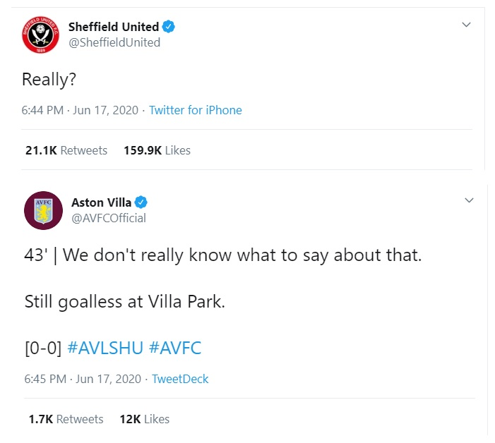 How to react in a crisis, hawkeye, aston villa