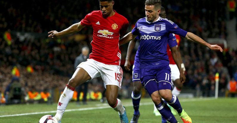 how to influence people, marcus rashford, anderlecht