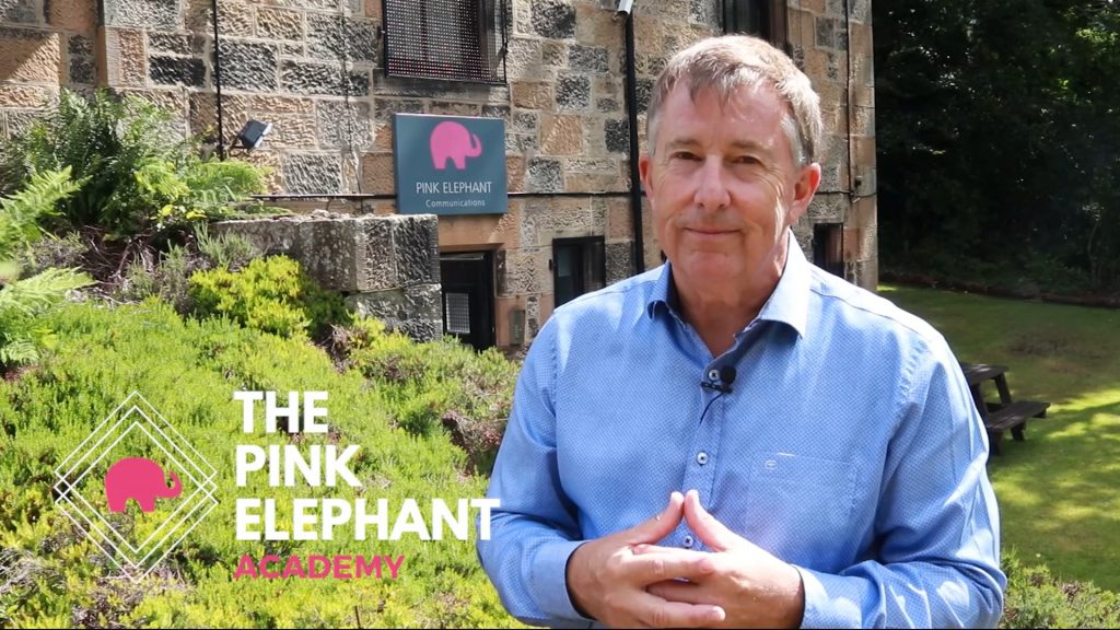 Pink Elephant Academy, Bill McFarlan, presentation skills online